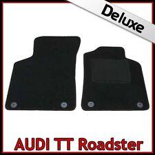 Audi TT Roadster Mk1 1999-2006 Tailored LUXURY 1300g Carpet Car Floor Mats BLACK