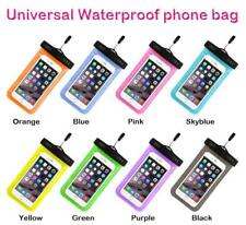"6"" WATERPROOF CASE POUCH BAG universal mobile phones driver license passport ID"