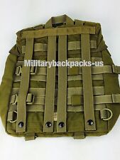 New USMC molle II pack radio carrier waterproof for main pack ilbe coyote brown