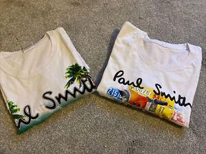 Men's Paul smith t shirt xxl Bundle Slim Fit- 2 Items