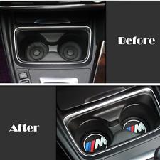2pc Anti-slip  Car Interior Pad Silicone Cup Holder For BMW 5 7 X3/X4/X5/X6