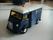 Tomica Dandy Citroen H Police Nationale in Dark Blue on 1:43