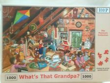 Brand New House of Puzzles 1000 Piece Jigsaw Puzzle - WHAT'S THAT GRANDPA?