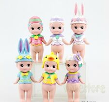 6Pcs Sonny Angel Easter Action Figure Set Baby Doll Collection Kids Toy Gift New