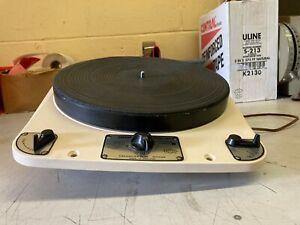 Garrard 301 Turntable, Grease Bearing