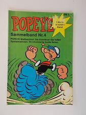 POPEYE - Sammelband 4 (Heft Nr. 13, 22, 15) Comic. Z. 2-3