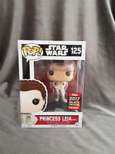 Funko Pop Princess Leia Hoth #125 Star Wars 2017 Galactic Convention Exclusive