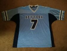 New York Number No. #7 Celo Jersey Tee T-Shirt Men's Size XL Extra Large! Rare