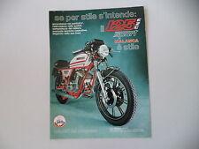 advertising Pubblicità 1980 MOTO MALANCA 125 E 2C SPORT