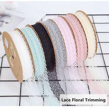 Lace Floral Trims Sewing Craft Edging Ribbon Trimming DIY Dress Underwear