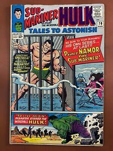Tales to Astonish #70 Marvel Comics Hulk & Sub-Mariner Silver Age