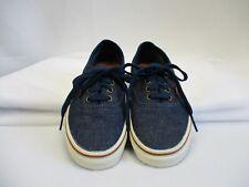 VANS Mens sz 5.5 Womens sz 7 Dark Blue Denim ERA Skate Shoe Sneakers
