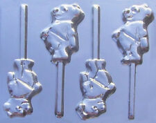 Pooh Bear Chocolate Lollipop Candy Mold  #138 - NEW