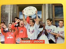 M18/2003 Auflage 2000 Stück Fussball FC Bayern Deutsche Meisterschaft 1999/2000