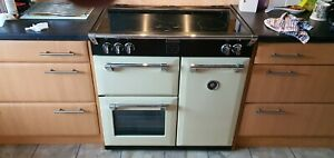 Stoves 90cm Range Cooker - 5 Zone Induction Hob and 2 Fan Ovens+1 standard oven