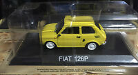 "DIE CAST "" FIAT 126P "" LEGENDARY CARS SCALA 1/43"