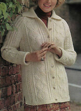Aran Women's Sweaters/Clothes Crocheting & Knitting Patterns