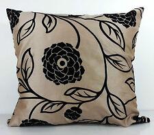Silk Floral Decorative Cushions