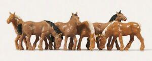 Merten 0215018 H0 Pferde #NEU in OVP