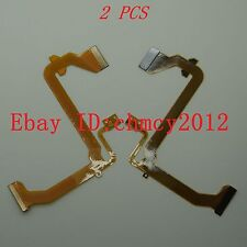 2Pcs LCD Flex cable For Panasonic NV-GS19 NV-GS17 NVGS21 NV-GS25 GS28 GS35 GS38