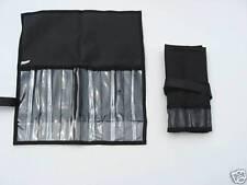 Custom Offshore Tackle 6 Pocket Rollup Trolling Lure Jig Bag - Black