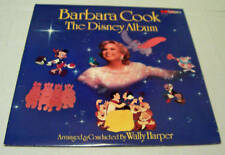 Vintage Collectible Barbara Cook The Disney Album MCA Vinyl LP Music Record NICE