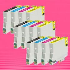 12 NON-OEM INK alternative for EPSON T0441 - T0444 Stylus CX6400 CX6600