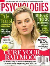 Psychologies Magazine August 2019 (Truly Flourish-Break Free) Margot Robbie...