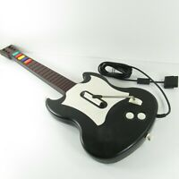 PS2 Guitar Hero Gibson Black White Octane SG Wired Controller Guitar PSLGH