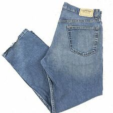 Levis Signature Jeans 36x29 Regular Fit Blue Distressed Denim