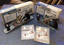 New ListingVintage 1951 Craftsman Professional Smoothing & Jack Hand Plane No. 3742 & 3743