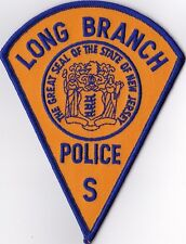 Long Branch Police S Police Patch New Jersey NJ NEW !!!