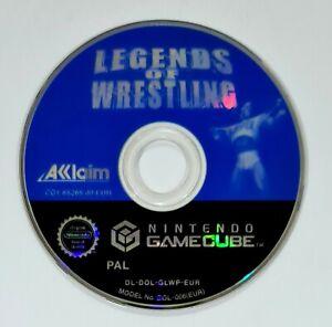 Nintendo GameCube Spiel LEGENDS OF WRESTLING dt. PAL WWF/WWE/WCW