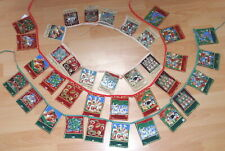 12 DAYS OF CHRISTMAS BUNTING - COTTON - HAND MADE