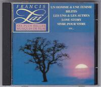 FRANCIS LAI - SES PLUS BELLES MUSIQUES DE FILM TELSTAR CD 1991 FRANCE