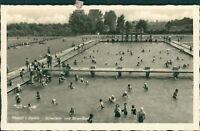 Ansichtskarte Rastatt Baden Schwimm- Strandbad  (Nr.9126) -II