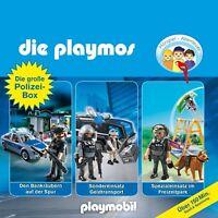 DIE PLAYMOS - DIE GROßE POLIZEI-BOX 3 CD NEU