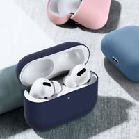 For Airpods Pro 1 2nd Wireless Soft Rubber Earphone Charging Protect Case Cover