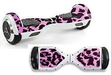 Pink Leopard Print Sticker/Skin Hoverboard / Balance Board Hov10