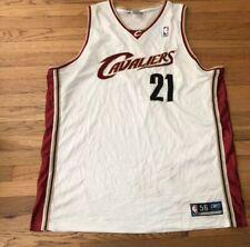 Reebok Authentic  Darius Miles Cleveland Cavs Cavaliers Stitched Jersey Men 56