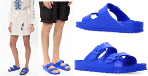 Birkenstock Unisex Ultra Blue Eva Ultra Lightweight Sandals Slides 42