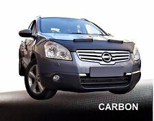 Haubenbra para nissan qashqai 1. Generation car bra desprendimiento protección Carbon
