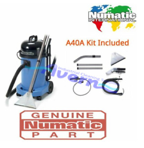 Numatic CT470 Industrial Commercial Carpet & Upholstery Cleaner Machine Equipmen