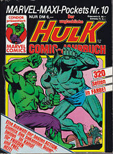 Der unglaubliche HULK Marvel-Maxi-Pockets Nr. 10 Comic-Jahrbuch Z 0-1