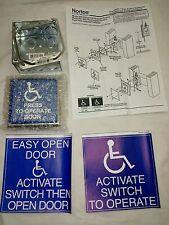 NEW! Norton 661 Handicapped Face Plate Door Switch for Powermatic Door Openers