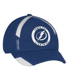 reputable site 39455 815f6 New ListingTampa Bay Lightning NHL Adidas Men s Blue Practice Jersey Hook  Flex Hat