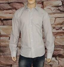 90ba9bfd3378 Valentino Roma Dress Shirt in White-grey Size 17 ½ X 36/37 100