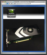 Genuine Apple Geforce 8800 GT 512mb Graphics Video Card *Mac Pro 1,1/2,1 EFI32