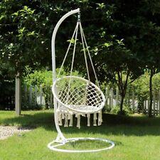 Hängesessel Hängematte 150 kg Hängestuhl Hängekorb Garten Schaukel Ø60 cm