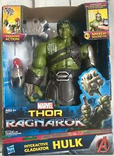 Marvel Thor: Ragnarok Hulk Interactive Electronic Action Figure Talks - New